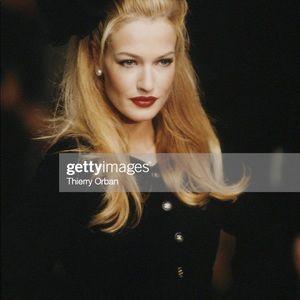 Chanel Vintage Fall 1995 LBJ Black Tweed Jacket